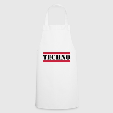 Techno techno - Tablier de cuisine