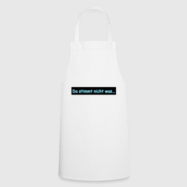 is not right - Cooking Apron