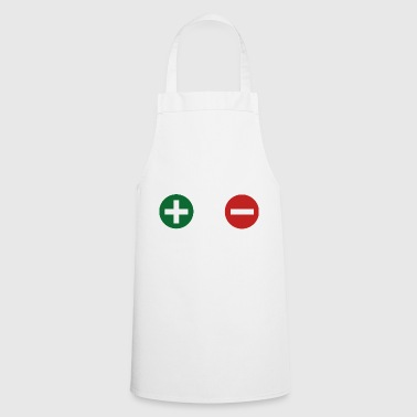 plus minus - Cooking Apron
