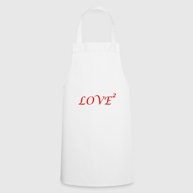 Lovely LOVE love Loved love romantic i love - Cooking Apron