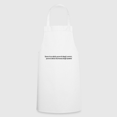 WEALTH and POVERTY - Cooking Apron