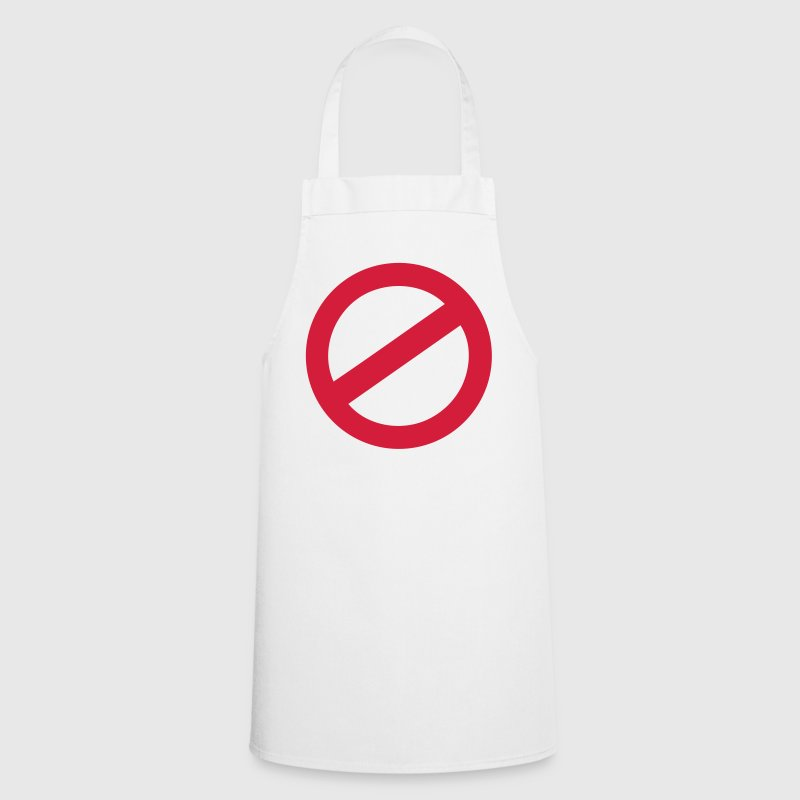 not allowed - Cooking Apron