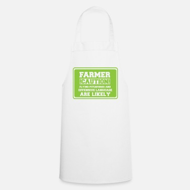 Farmer Farmer / farmer / farmer: Farmer! Caution! Flying - Cooking Apron