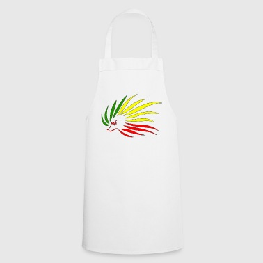 Rasta Hedgehog - Cooking Apron