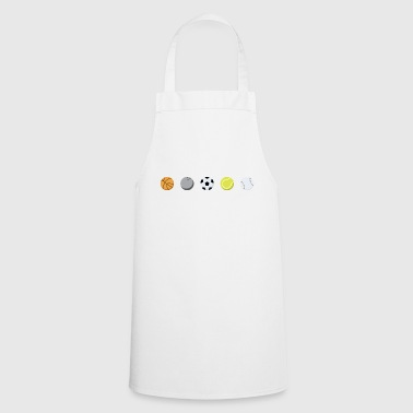 Ball sports diversity lovers - Cooking Apron