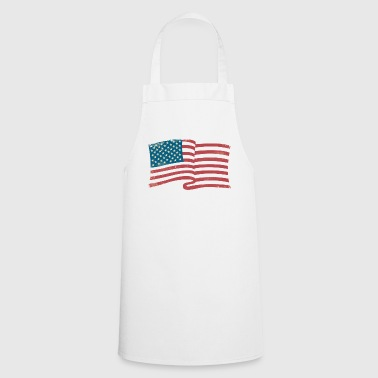 american flag - Cooking Apron
