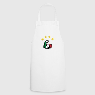 Biceps Italy football world champion - Cooking Apron