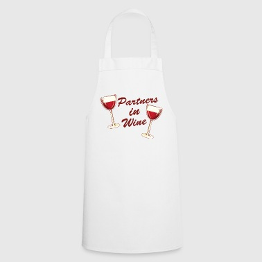 Partners in Wine - Friends Wine Shirt - Keukenschort