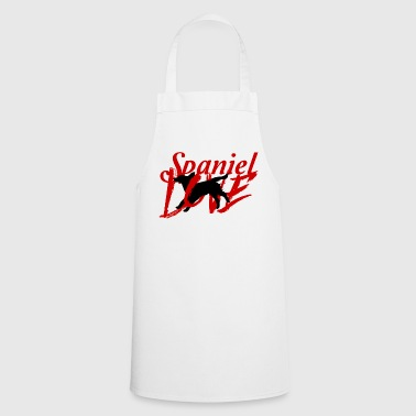 Dog / Cocker Spaniel: Spaniel Love - Cooking Apron
