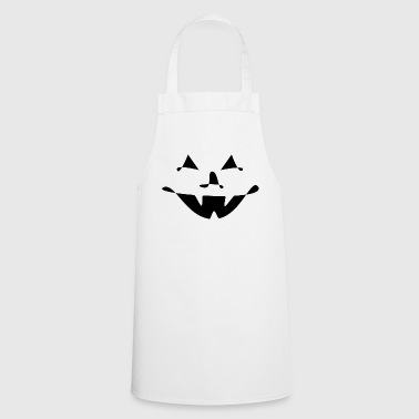 minimal pumpkin halloween - Cooking Apron