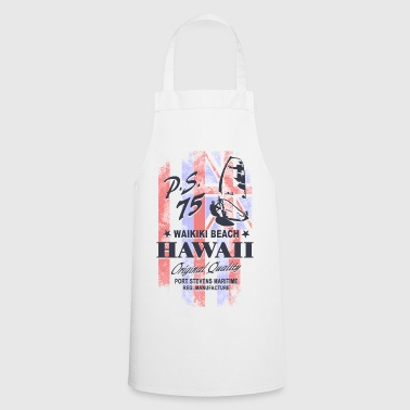 Hawaii Surfing - Hawaii Vintage Flag - Kochschürze