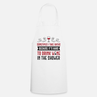 Wine Drink Wine - Cooking Apron