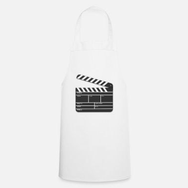 Movie Director movie flap movie cinema - Cooking Apron