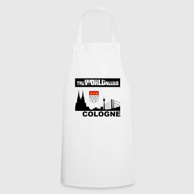 Theworldneeds Cologne Black - Kochschürze