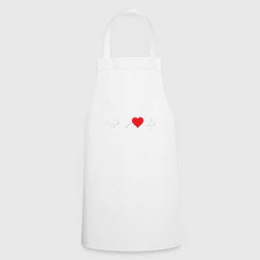 Poker bluff lies face gift - Cooking Apron