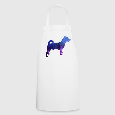 Jack Russel Galaxy Dog Gift - Cooking Apron