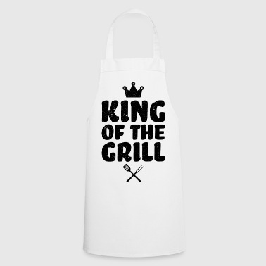 KING OF THE GRILL BBQ Barbecue cadeau drôle - Tablier de cuisine