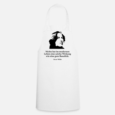 Modern Wilde: There is nothing in modern life - Cooking Apron