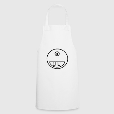 face teeth - Cooking Apron