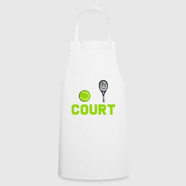 tennis court - Cooking Apron