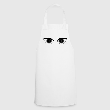Pupil Eyes pupil white - Cooking Apron