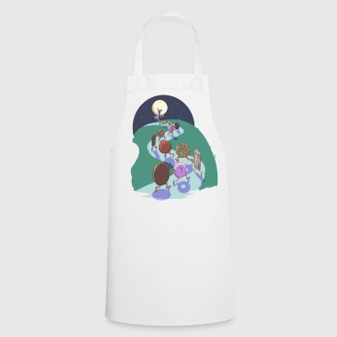 Pied Piper of biscuits - Cooking Apron