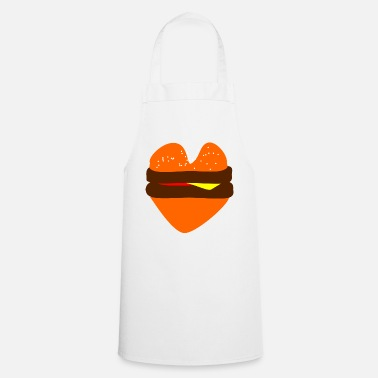 Burger loveburger burger! Burger! Burger! Burger! Burger! - Cooking Apron