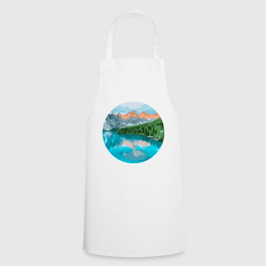 Mountains and lake - Cooking Apron