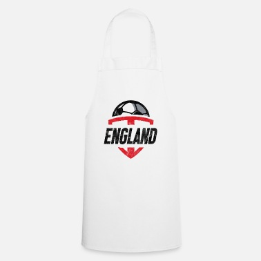 Football Team England Football Team Team T-Shirt Gift - Cooking Apron