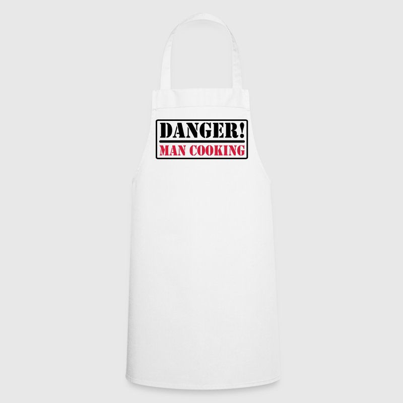 Danger! Man Cooking - Cooking Apron