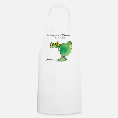 Officialbrands Janosch's Frog 'Kiss' - Cooking Apron