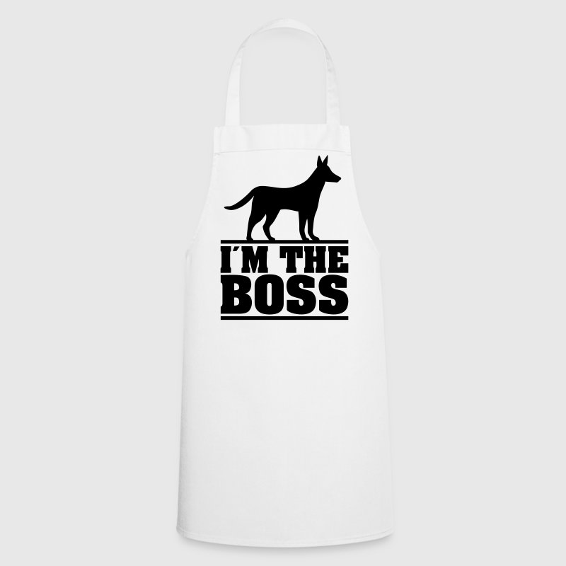 I am the boss! * Logo for hundeeiere. hund - Kokkeforkle