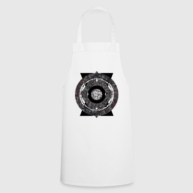 Grey Skulls Grey - Cooking Apron