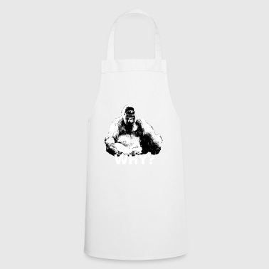 Gorilla in the sense of animal welfare - Cooking Apron