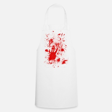 Latex Splashes of blood / blood Smeared - Cooking Apron
