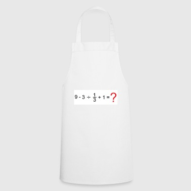 Mathematics mathematics - Cooking Apron
