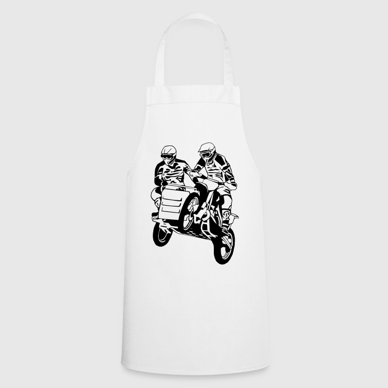 Sidecar Moto Cross - Tablier de cuisine