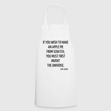 Science - Geek - Math - Physics - School - Quote - Cooking Apron