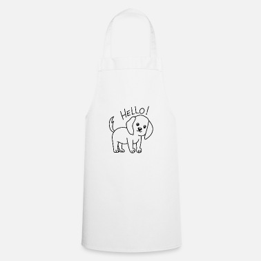 Cute Dog Cute dog - Cooking Apron