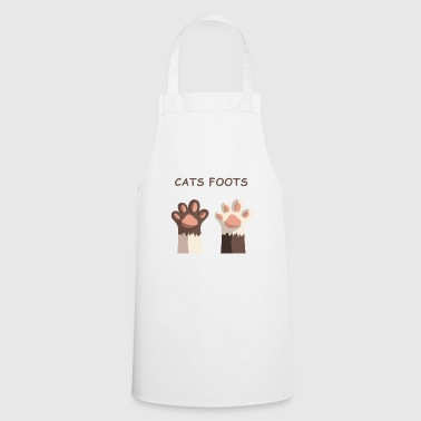 cats foots - Cooking Apron