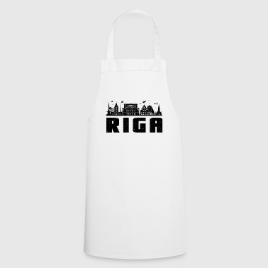 Riga city portrait and holiday gift - Cooking Apron