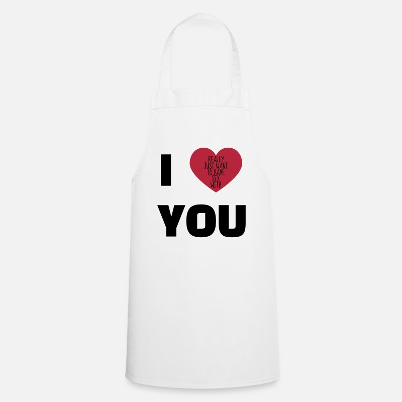 Alcohol Aprons - Sex - Sexy - Humor - Wife - Couple - Marriage  Aprons - Apron white
