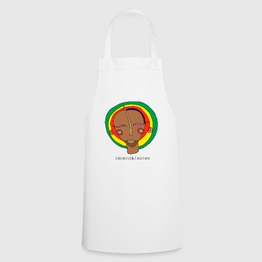 Rasta mask - Cooking Apron