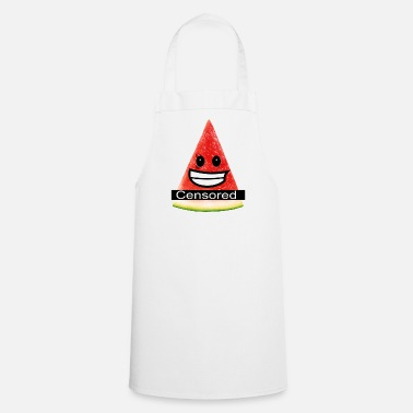 Nudity sexy watermelon - censored for nudity - Cooking Apron