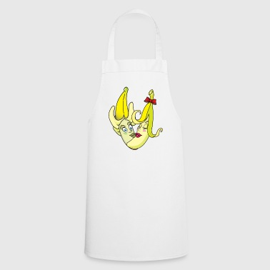 Two fruit bananas are kissing each other - Cooking Apron