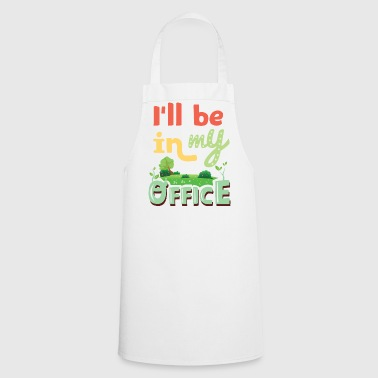 Garden Gardener Gardening Green Nature Office - Cooking Apron