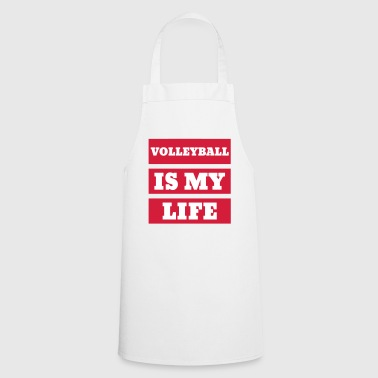 Volleyball - Volley Ball - Volley-Ball - Sport - Fartuch kuchenny