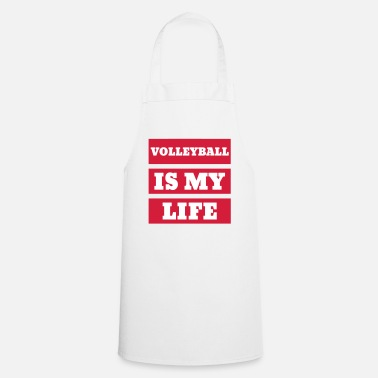 Volley Volleyball - Volley Ball - Volley-Ball - Sport - Cooking Apron