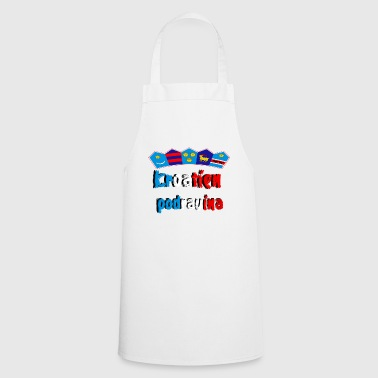 Region Croatia of the Podravina region - Cooking Apron