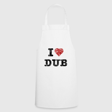 I Love DUB vintage dark - Tablier de cuisine